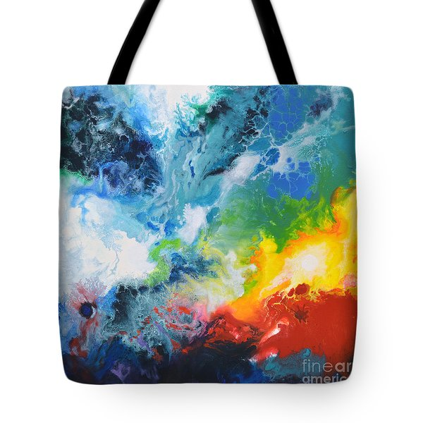 Spark Of Life Canvas Two Tote Bag