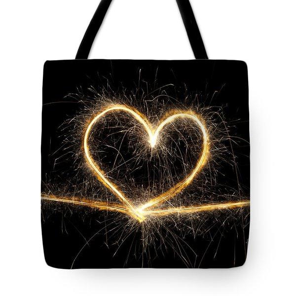 Spark Of Love Tote Bag
