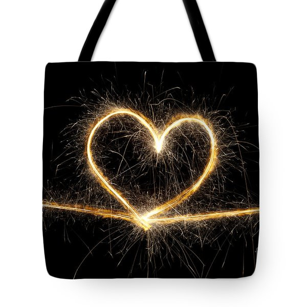 Spark Of Love Tote Bag