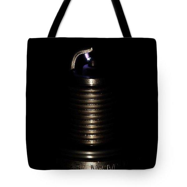 Spark Plug Tote Bag