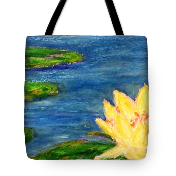 Sparking Lillies Tote Bag by Daniel Dubinsky