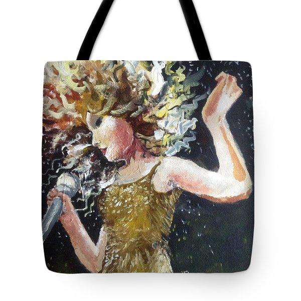 Sparkle Tote Bag by Alana Meyers