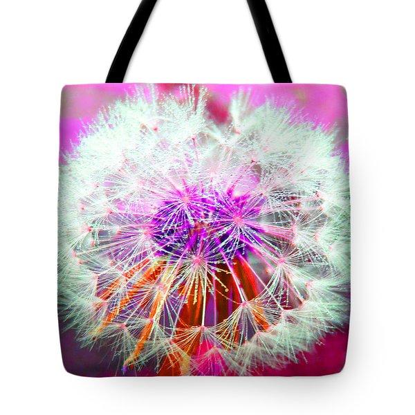 Sparkle Tote Bag by Barbara McDevitt