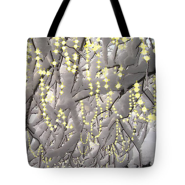 Sparkling Christmas Tote Bag