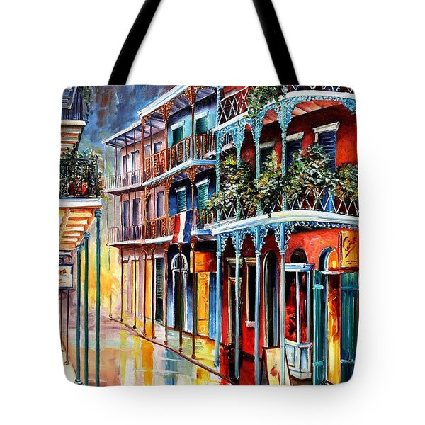 Sparkling French Quarter Tote Bag by Diane Millsap