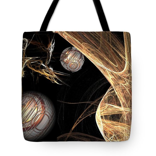 Sparkling Gold Tote Bag