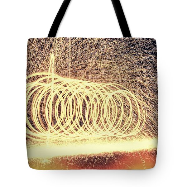 Sparks Tote Bag by Dan Sproul