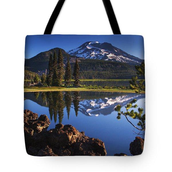 Sparks Lake Sunrise Tote Bag