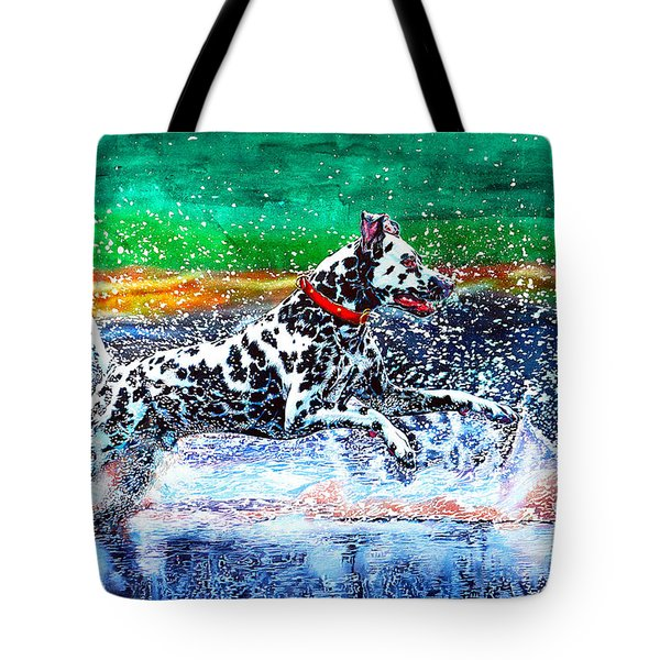 Sparky Tote Bag