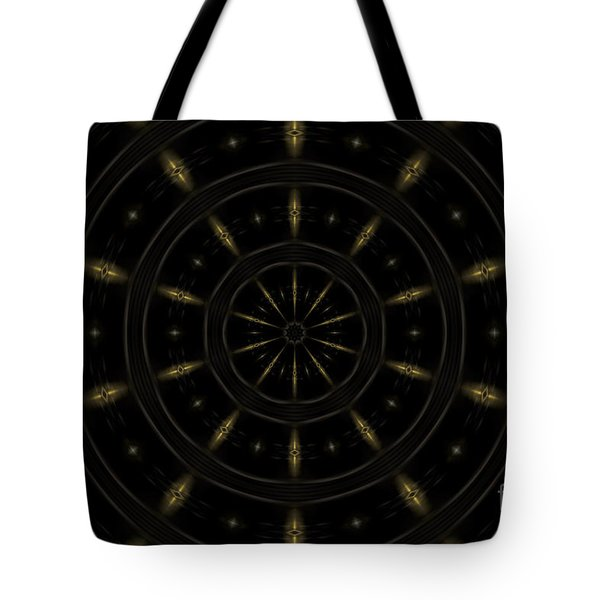 Spatial Abstract Background Pattern Tote Bag by Jose Elias - Sofia Pereira