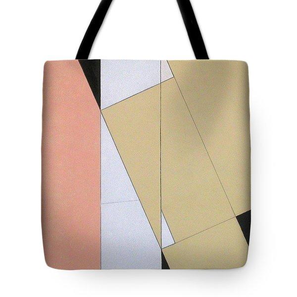 Spatial Relationship Tote Bag by George Dannatt