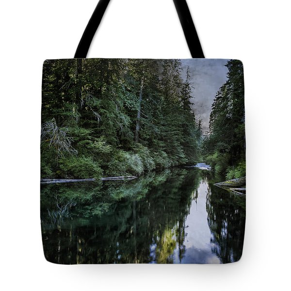 Spawning A River Tote Bag