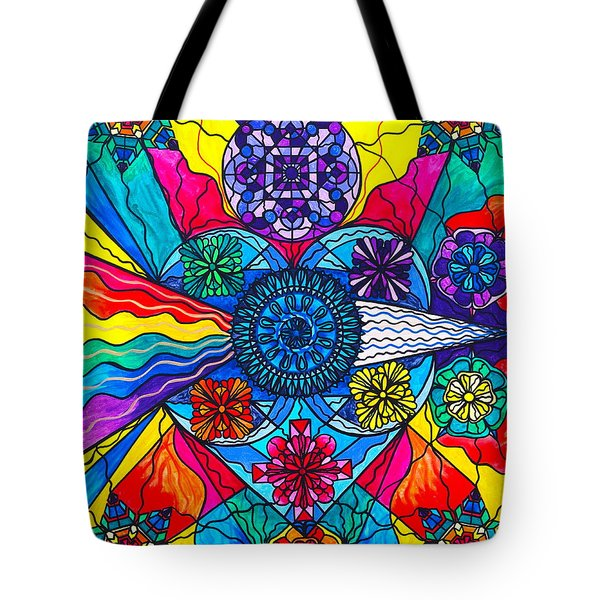 Speak From The Heart Tote Bag