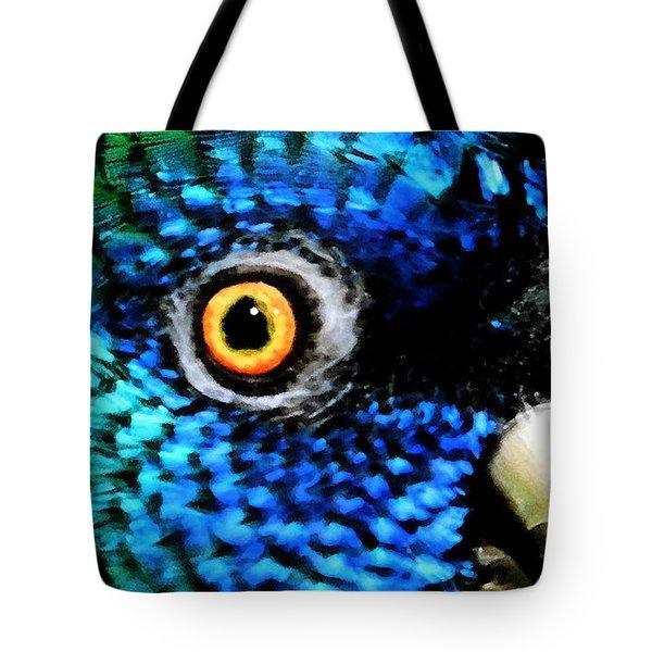 Speaking Eye  Tote Bag
