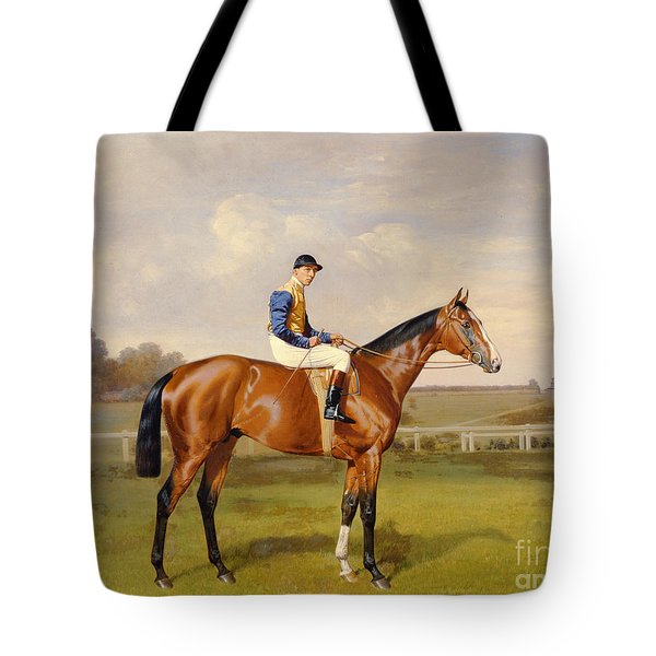 Spearmint Winner Of The 1906 Derby Tote Bag by Emil Adam
