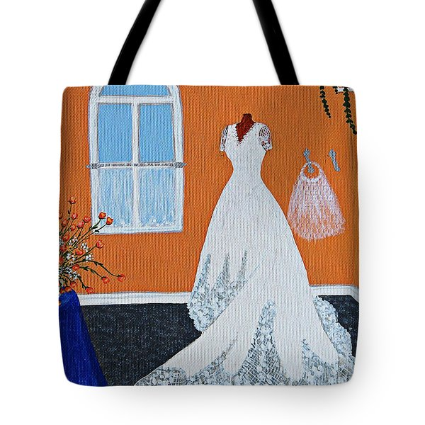 Special Day Tote Bag by Barbara Griffin