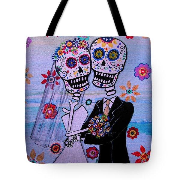 Special Day Dia De Los Muertos Wedding Tote Bag