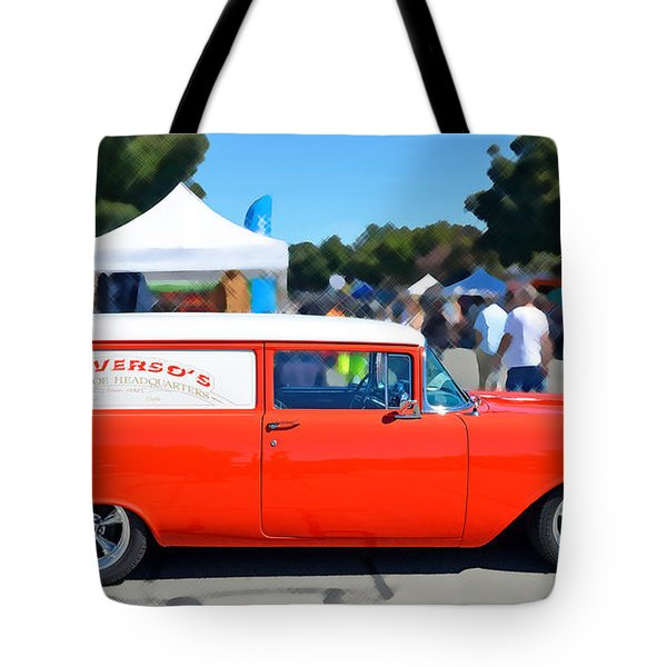 Special Delivery Tote Bag by David Lawson