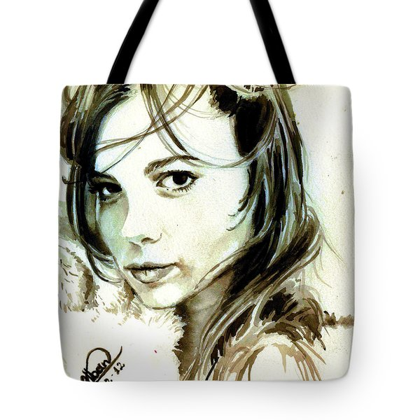 Special Friend Portrait Tote Bag