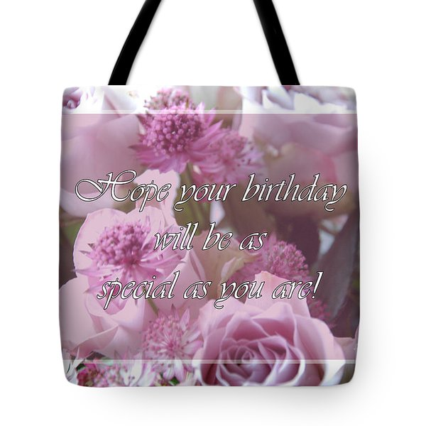 Tote Bag featuring the photograph Special by Randi Grace Nilsberg