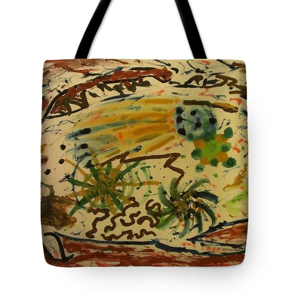 Evolution Tote Bag by Thomasina Durkay