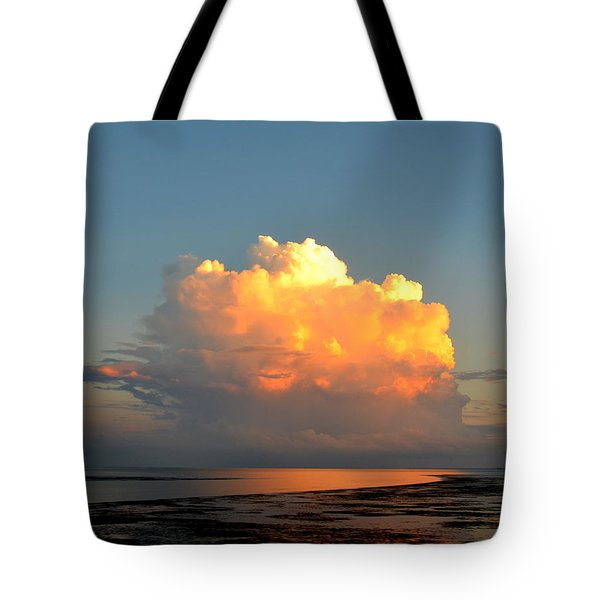 Spectacular Cloud In Sunset Sky Tote Bag