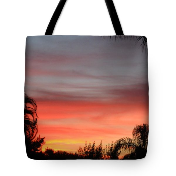 Spectacular Sky View Tote Bag