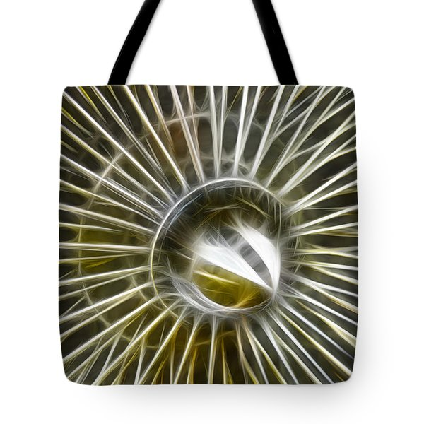 Spectacular Spokes Tote Bag