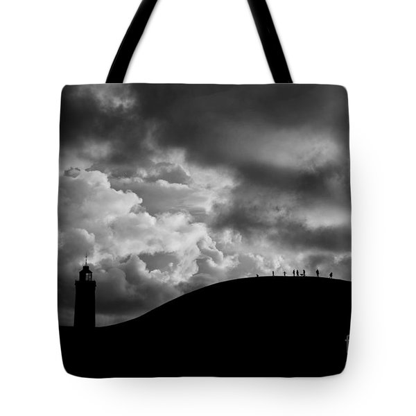 Spectators To The Storm Tote Bag