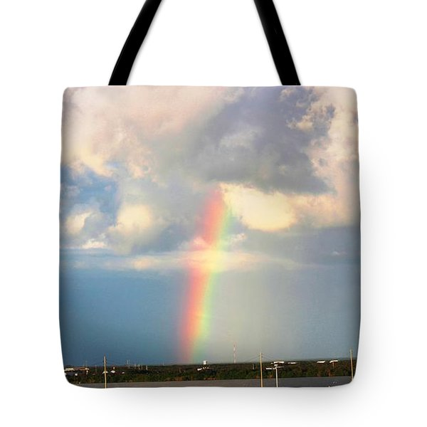 Tote Bag featuring the photograph Spectrum Of Light by Judy Palkimas