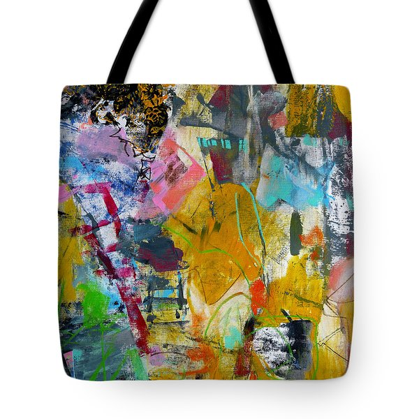 Tote Bag featuring the painting Speechless by Katie Black