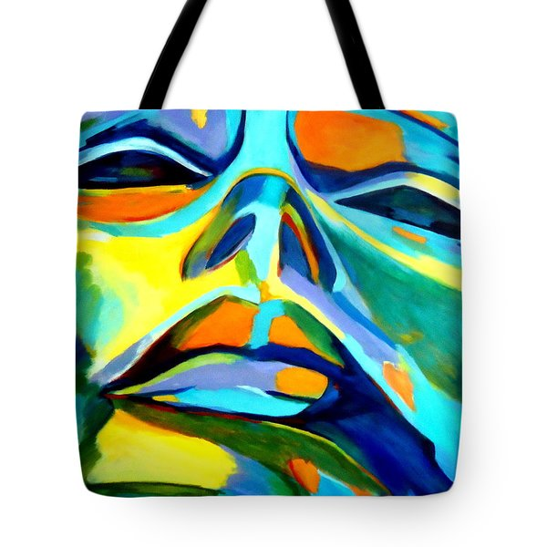 Speechless Yearning Tote Bag by Helena Wierzbicki