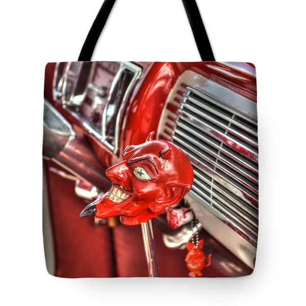 Speed Demon Tote Bag by Timothy Lowry