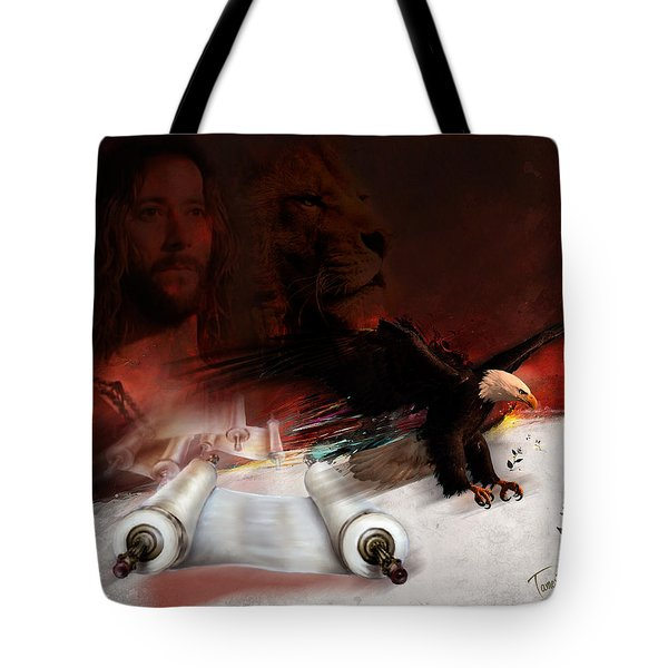 Speed In The Spirit Tote Bag by Tamer and Cindy Elsharouni