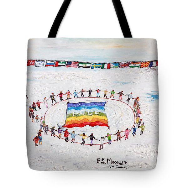 Speranza Di Pace Tote Bag by Loredana Messina