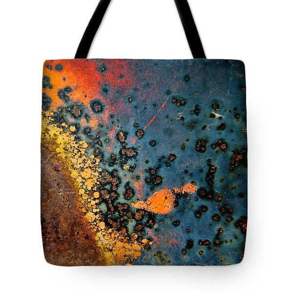 Spew Tote Bag by Leanna Lomanski
