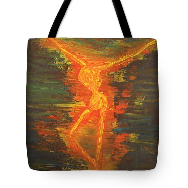 Spewing Madness Tote Bag