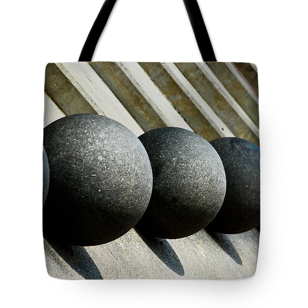 Spheres And Steps Tote Bag