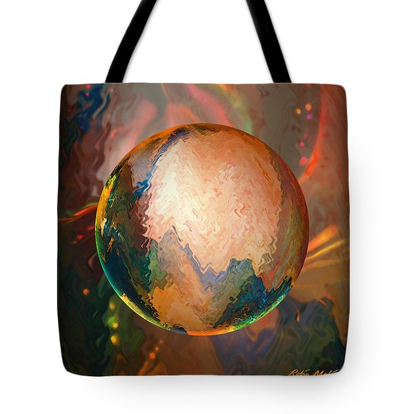 Sphering Lunar Vibrations Tote Bag