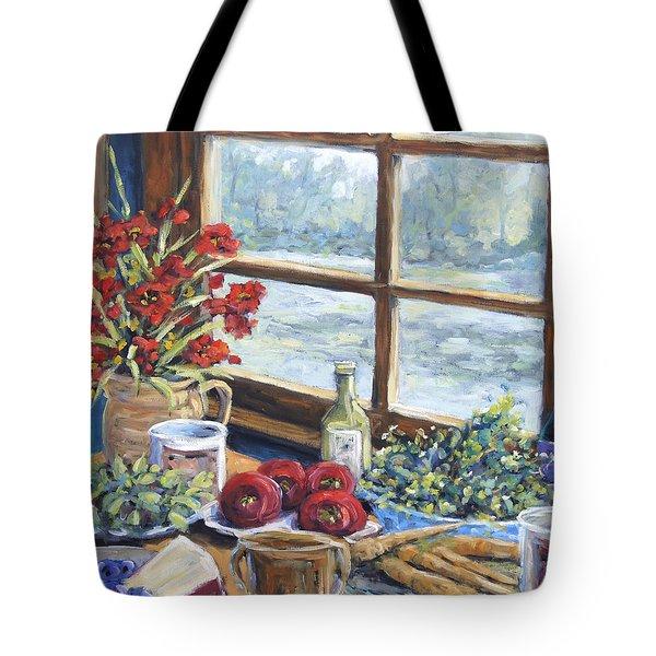 Spice Table By Prankearts Tote Bag by Richard T Pranke