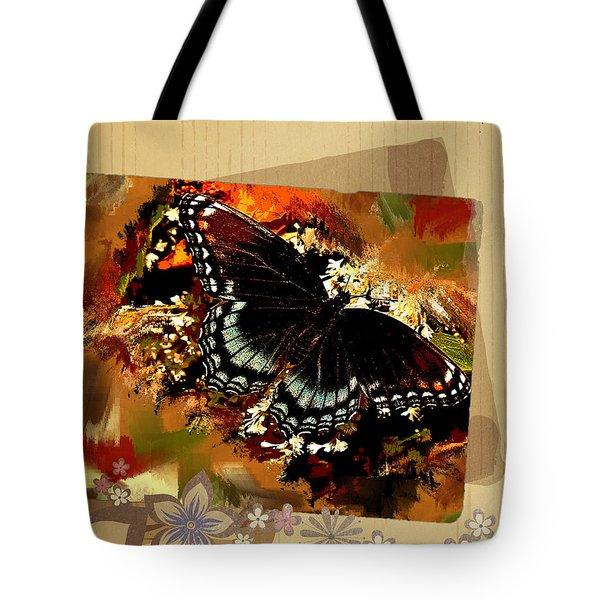 Spicebush Butterfly Tote Bag