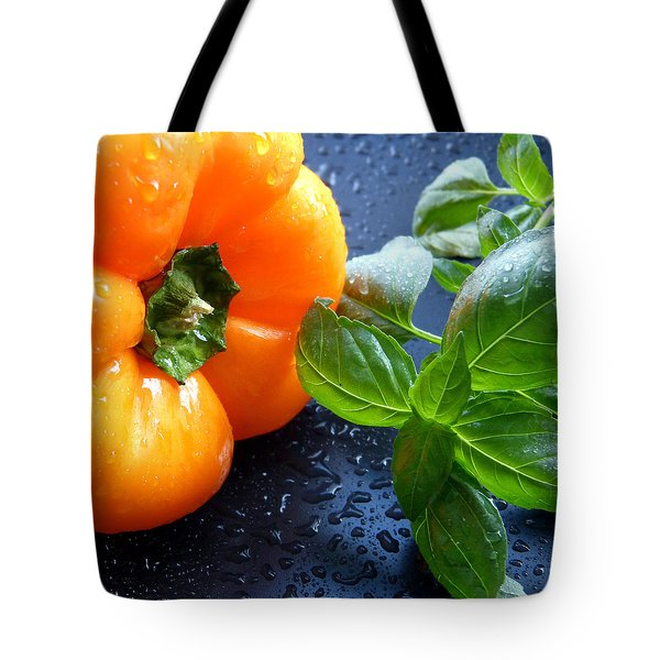 Spiced Pepper Tote Bag by Pete Trenholm