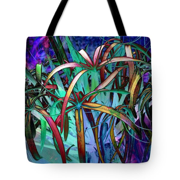 Spider Lilly Tote Bag by Athala Carole Bruckner