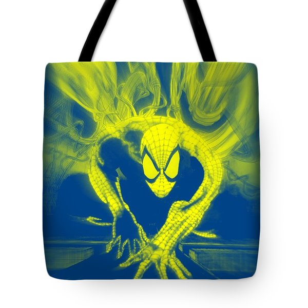 Spider-man Y B Blast Tote Bag