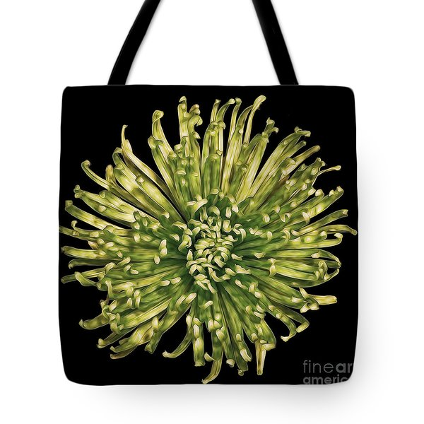Tote Bag featuring the photograph Spider Mum by Jerry Fornarotto