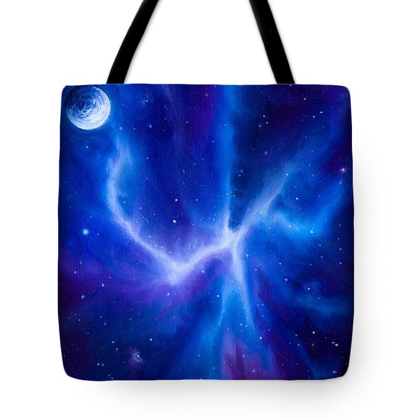 Spider Nebula Tote Bag by James Christopher Hill