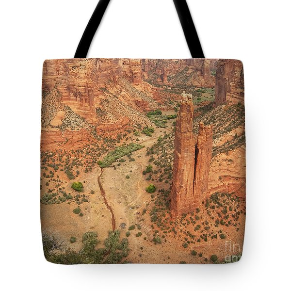 Spider Rock Tote Bag by Bob and Nancy Kendrick