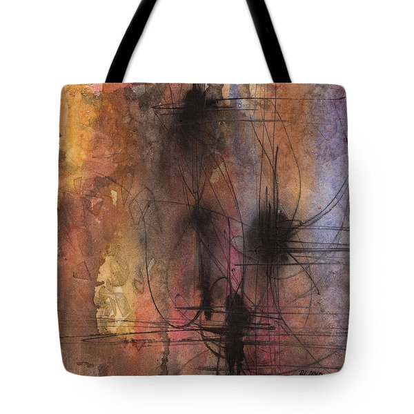 Spider Smush Tote Bag by Rebecca Davis