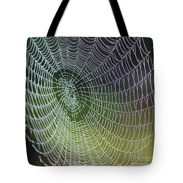 Spider Web Tote Bag by Heiko Koehrer-Wagner