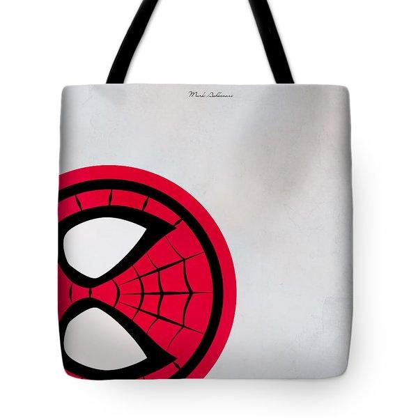 Spiderman 6 Tote Bag by Mark Ashkenazi